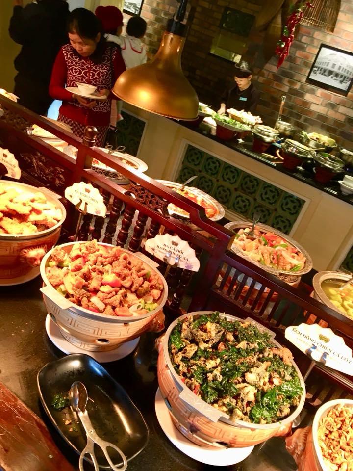 Buffet Ho Tay Vietnam