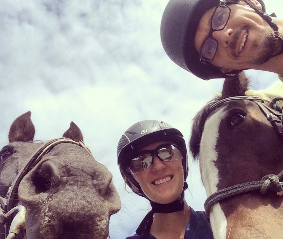 Krystal and Christian - Horse Trainer Travels The World